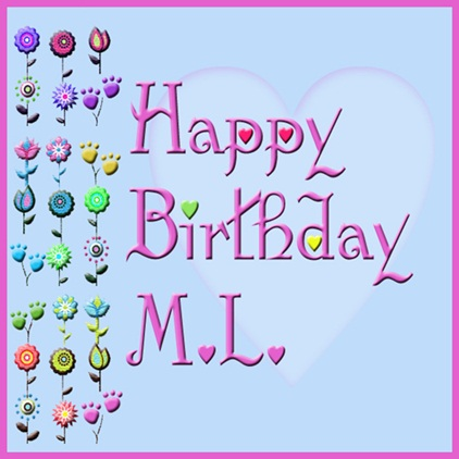 Happy Birthday ML!