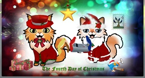 Dante and Sascha Christmas