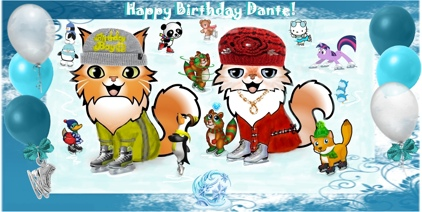 Happy Birthday Dante