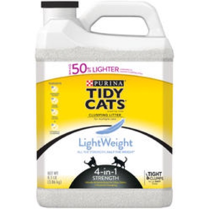 Tidy Cats LightWeight 4-in-1 Strength Cat Litter
