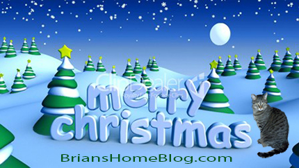 Merry Christmas from Brian's Home