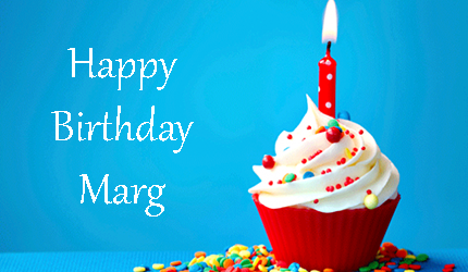 Happy Birthday Marg