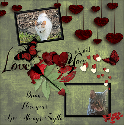 Brian's Valentine from beautiful Scylla