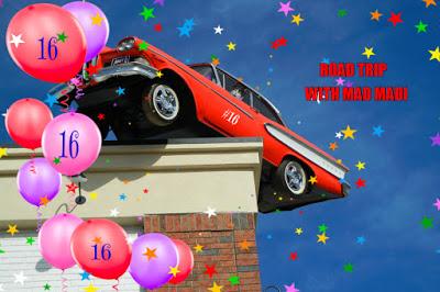 Happy 16th Birthday Madi!